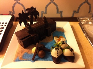 Chocolate rendition of  The Breakers