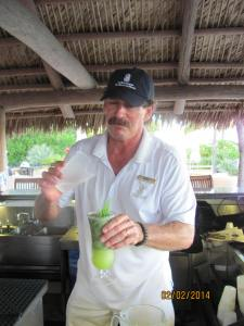 Geno the Mojito man