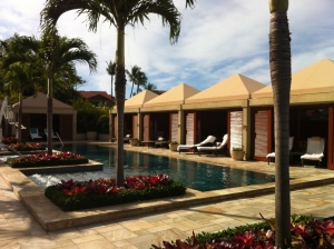 Adult Pool and Cabanas